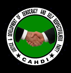 CAHDI (Justice and Development of Democracy and Self-Respectfulness Party)