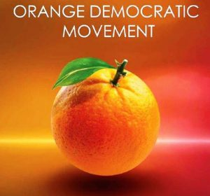 ODM (Orange Democratic Movement)