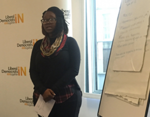ALN at the London Youth Political Academy 2016